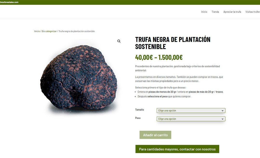 La «Despensa del Bosque» nouveau site web